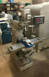 Bridgeport Milling Machine Dro