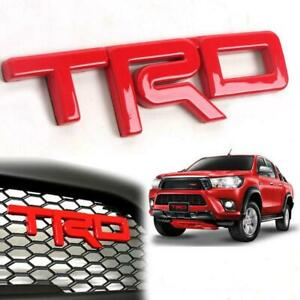 Toyota Prius Invincible Hilux Tacoma Grill Trd Emblem Decal Badge Logo