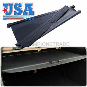 Us Blk Cargo Luggage Cover Trunk Shade Visor For 06 11 Mercedes W164 Ml350 Ml450