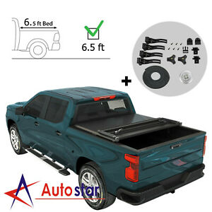 Hard Tri Fold Tonneau Cover For 2009 2018 Dodge Ram 1500 2500 3500 6 5ft Bed