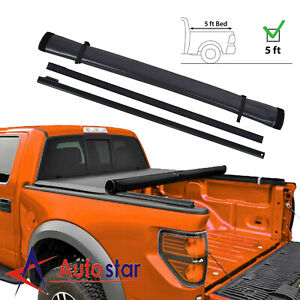 Soft Roll Up Tonneau Cover For 2005 2018 Ford Ranger 5ft Short Truck Bed