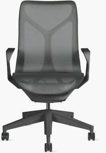 Authentic Herman Miller Cosm Chair Mid Back Design Within Reach