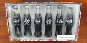 INTERNATIONAL COCA COLA MINIATURE CONTOUR BOTTLES 1999