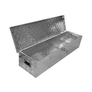 49 Aluminum Truck Underbody Tool Box Trailer Rv Tool Storage Under Bed W Lock