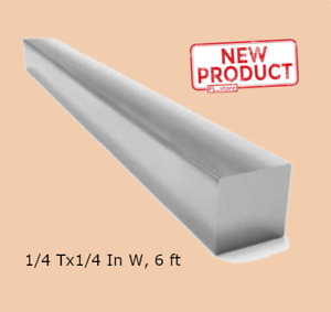 Square Stock Stainless Steel 1 4 Inch X 1 4 Inch X 72 Inch Solid 6 Feet Long Bar