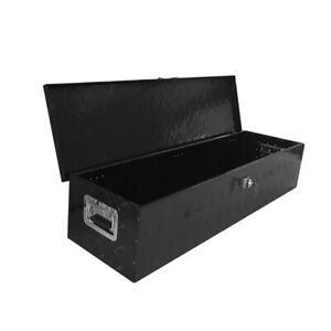 49 Aluminum Truck Underbody Tool Box Trailer Rv Tool Storage Under Bed Black