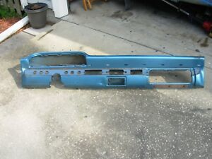 1963 Ford Galaxie 500 Xl 2 Door Fastback Dash Panel