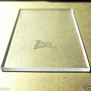 1 4 X 12 X 1 4 Clear Acrylic Sheet Plastic Plexiglass Base Plate Plaque