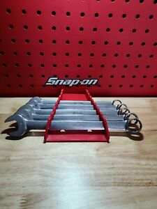 Snap On Oex16 Oex24 5 Pc 1 2 Thru 3 4 12 Point Combination Wrench Set