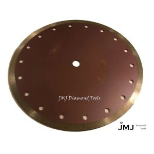 10 inch Premium Continuous Diamond Blade For Cutting Tile In Dry wet