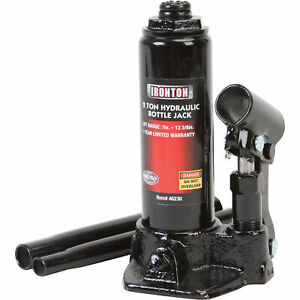 Ironton 2 Ton Hydraulic Bottle Jack