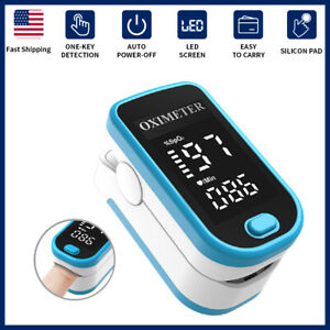 Pulse Oximeter Fingertip Blood Finger Heart Rate Patient Monitor Oxygen Spo2 Pr