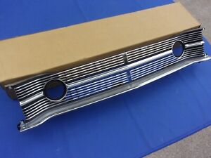 New 1968 Dodge Dart Front Center Grill Oer Mopar Licensed 2786047