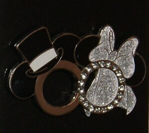 Disney Mickey Minnie Mouse Icon Wedding Ring Pin Top Hat Veil New On Orig Card