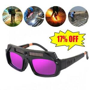 Solar Auto Darkening Welding Helmet Eye Protection Goggles Welder Glasses 2021