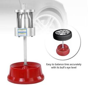 For Car Truck Portable Hubs Wheel Tire With Balancer Bubble Level Heavy Duty Rim