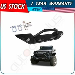 For Jeep Wrangler Jk 2007 2018 Front Bumper New Style Complete Assembly