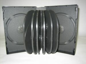 1 New Quality 44mm 1 75 Multi 14 Dvd Cases Black Dh14 90287 Free Shipping