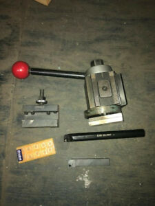 Phase 2 Ii Quick Change Tool Post Set 1 Holders Ca Size