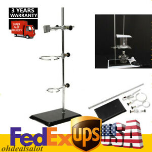 New 50cm Lab Stands Bracket Retort Support Platform Clamp Flask Fixing Device
