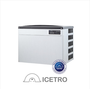 Icetro Jet ice210 Half Dice Cube 1day 200kg Ice Maker Cube Machine