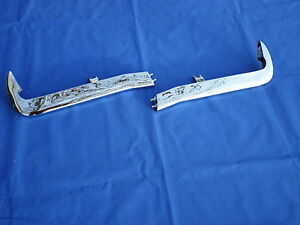 New 1965 Chevrolet Chevy Impala Belair Biscayne Accessory Front Bumper Guards