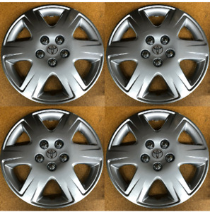 New 15 6 Spoke Hubcap 2005 2006 2007 2008 Fits Toyota Corolla Le Wheelcover Set