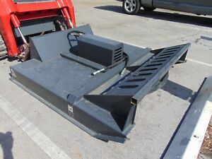 New 72 Deck Bush Hog Rotary Grass Mower Land Clearing Skid Steer Attachment