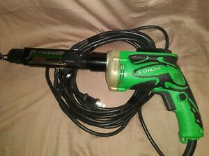 Hitachi Drywall Screw Gun W6v4 with The Super Drive Adapter