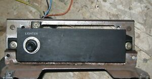 1985 1986 Ford Thunderbird Turbo Coupe Dash Lighter Plate Used Orig 85 86