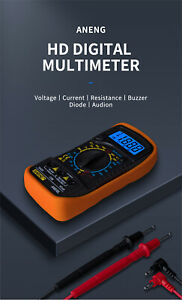 An830l High precision Mini Digital Multi function Meter Backlight Electrician
