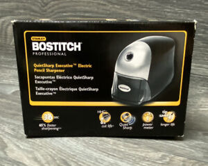 Bostitch Professional Quietsharp Executive Electric Pencil Sharpener Black Works