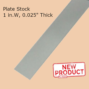 Stainless Steel Sheet Plate Stock Metal 1 Inch Wide X 12 Inch Long Annealed New