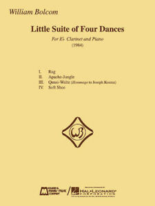 William Bolcom - Little Suite of Four Dances for E-Flat Clarinet and Piano (Will