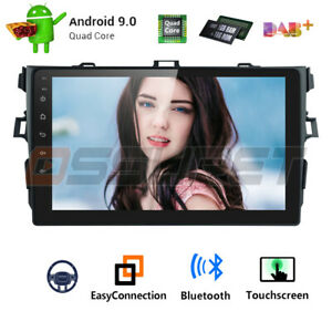 Android 9 1 For Toyota Corolla 2006 2012 Gps Navigation Car Stereo Radio Wifi Fm