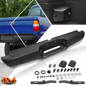 For 95 04 Tacoma Oe Direct Replacement Stainless Steel Rear Step Bumper Black