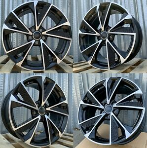 19 Inch Wheels Fit Audi A4 A5 S4 S5 A6 Q3 Q5 Passat 19x8 5 35 5x112 Rims Set 4