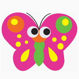 Magnetic Whiteboard Butterfly Erasers