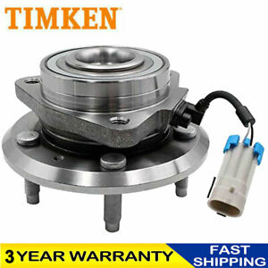 Front Timken Wheel Hub Bearing For Chevy Cadillac Buick With Abs 5 Lug 513121