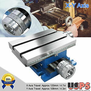 Compound Cross Slide Work Table Universal X y Axis Cross Slide Bench Drill Vise