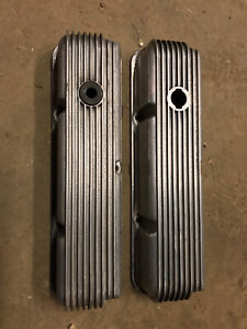Vintage Cal Custom 390 427 428 Ford Fe Valve Covers 40 1018