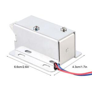 Electric Magnetic Lock Miniature Electromagnetic Lock For Door Cabinets Drawers