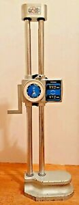Mitutoyo 192 140 Dial Height Gage With Counter 12