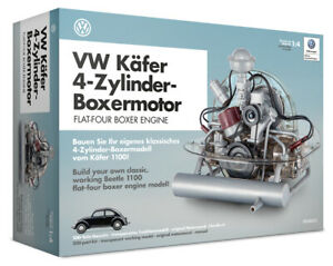 Vw Beetle Model Engine Kit With Collector s Book
