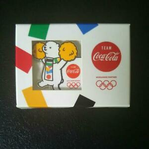 2020 Tokyo Olympics Coca Cola pin Badge Coke ON limited Campaign Bear