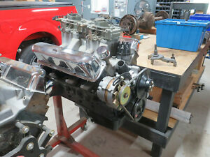 1964 Oem Ford 427 Hi Rise Engine Ford Thunderbolt Sideoiler