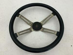 1970 1972 Oldsmobile Cutlass Oem 4 Spoke Sport Steering Wheel Assembly