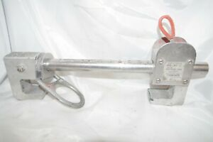 Miller Fall Protection Beam Anchor 4 To 12 Model 8814 12