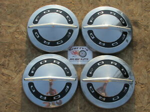 1964 1965 1966 Ford Fairlane Falcon poverty Dog Dish Hubcaps Set Of 4