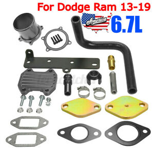 Us Egr Cooler Throttle Valve Block Kit 6 7l Cummin Diesel For Dodge Ram 13 19